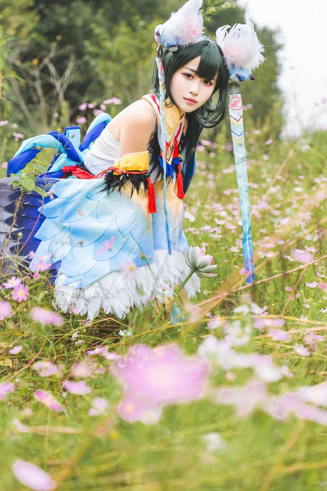 超美的花鸟卷 cosplay